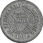 5 Pfennig (Wasserburg am Inn) [Bezirksamt, Bayern] – avers