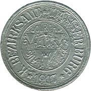 50 Pfennig (Wasserburg am Inn) [Bezirksamt, Bayern] – avers