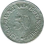 50 Pfennig (Wasserburg am Inn) [Bezirksamt, Bayern] – revers