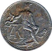 10 Pfennig (Stadtamhof) [Private, Bayern, Anton Knabel Kolonialwaren) – revers