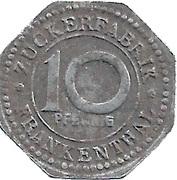 10 Pfennig (Frankenthal) [private] – revers