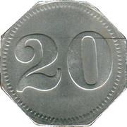 20 Pfennig (Kempten) [Private, Bayern, Mechanische Baumwollspinneri] – revers
