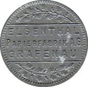 25 Pfennig (Elsenthal) [Private, Bayern, Papierfabrik Grafenau] – avers