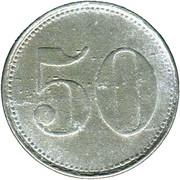 50 Pfennig (Eggenfelden) [Private, Bayern, Distriktsparkasse] – revers