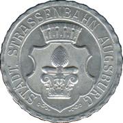 50 Pfennig (Augsbourg) [Strassenbahn, Bavière] – avers