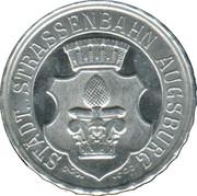 20 Pfennig (Augsburg) [Strassenbahn, Bayern] – avers