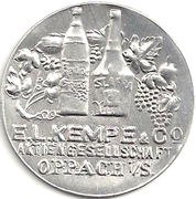 10 Pfennigs  E.L. Kempe & Co. Oppach – avers