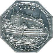 20 Pfennig (Nürnberg-Fürther) [Strassenbahn, Bayern] -  revers