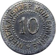 10 Pfennig (Berlin) [Private, Niederlausitzer Kohlenwerke Ag] – avers