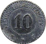 10 Pfennig (Berlin) [Private, Niederlausitzer Kohlenwerke Ag] – revers