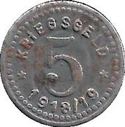 5 Pfennig (Fürstenwalde an der Spree) – revers