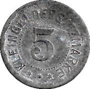 5 Pfennig (Züllichau) – revers