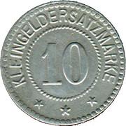 10 Pfennig (Crossen) [Stadt, Brandenburg] – revers