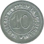 10 Pfennig (Landsberg am Warte) [Stadt, Brandenburg] – avers