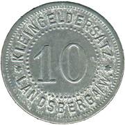10 Pfennig (Landsberg am Warte) [Stadt, Brandenburg] – revers