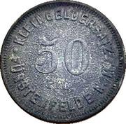 50 Pfennig (Furstenfelde N./M.) [Stadt Brandenburg] – revers