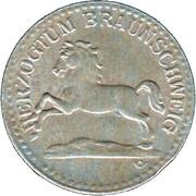 10 Pfennig (Herzogtum Braunschweig) – avers