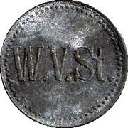 10 Pfennig W.V.St. – avers
