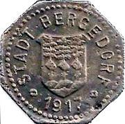 5 Pfennig (Bergedorf) – avers