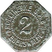 2 Pfennig (Eberswalde) [Private, Brandenburg, Ardeltwerke GmbH] – avers