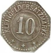 10 Pfennig (Heldrungen) [Private, Gewerkschaft Heldrungen II] -  revers
