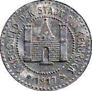 5 Pfennig (Quakenbrück) [Stadt, Hannover] – avers
