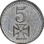5 Pfennig (Rotenburg) [Kreis, Hannover] – revers