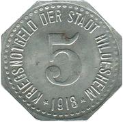 5 Pfennig (Hildesheim) [Stadt, Hannover] – avers