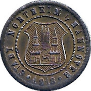 10 Pfennig (Northeim) [Stadt, Hannover] – avers