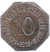 10 Pfennig (Hildesheim) [Stadt, Hannover] – avers