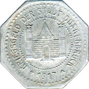 10 Pfennig (Quakenbrück) [Stadt, Hannover] – avers