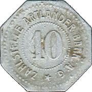 10 Pfennig (Quakenbrück) [Stadt, Hannover] – revers