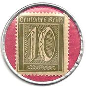 10 Pfennigs  E.L. Kempe & Co. Oppach – revers