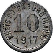 10 Pfennig (Hannover) [Kreis] – avers