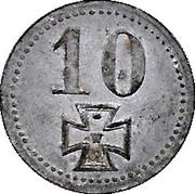 10 Pfennig (Hannover) [Kreis] – revers