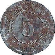 5 Pfennig (Freden am Leine) [Private, Hannover, Glasfabrik Scheidhorst] – avers