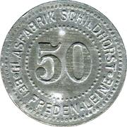 50 Pfennig (Freden am Leine) [Private, Hannover, Glasfabrik Scheidhorst] – avers