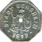 5 Pfennig (Bensheim) [Stadt, Hessen] – avers