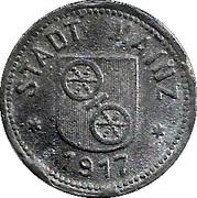 10 Pfennig (Mainz) [Stadt, Hessen] – avers