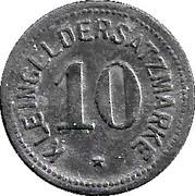 10 Pfennig (Mainz) [Stadt, Hessen] – revers
