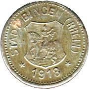 10 Pfennig (Bingen am Rhein) [Stadt, Hessen] – avers