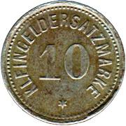 10 Pfennig (Bingen am Rhein) [Stadt, Hessen] – revers