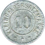 10 Pfennig (Giessen) [Stadt, Hessen] – revers