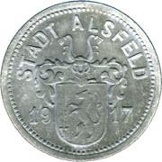 50 Pfennig (Alsfeld) [Stadt, Hessen] – avers