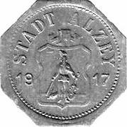 50 Pfennig (Alzey) – avers