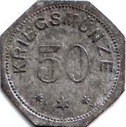 50 Pfennig (Alzey) – revers