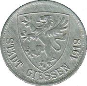 50 pfennig (Gießen) – avers