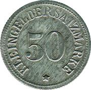 50 pfennig (Gießen) – revers