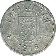 50 Pfennig (Tuttlingen) [Stadt, Württemberg] – avers