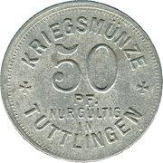 50 Pfennig (Tuttlingen) [Stadt, Württemberg] – revers